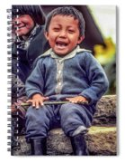 The Power Of Smiles Spiral Notebook