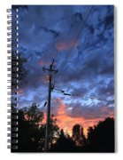 The Power Of Sunset Spiral Notebook
