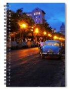 The Prado, Havana Cuba Spiral Notebook