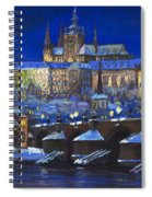 The Prague Panorama Spiral Notebook