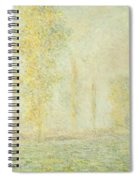 The Prairie In Giverny Spiral Notebook