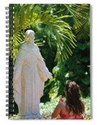 The Praying Princess Spiral Notebook