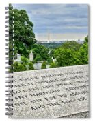 The Price Of Liberty Spiral Notebook