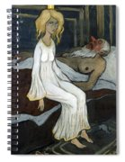The Princess And The Troll Spiral Notebook