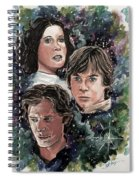 The Princess, The Knight And The Scoundrel Spiral Notebook