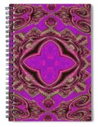 The Princesses Palace In Pink And Gold Spiral Notebook