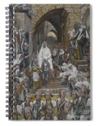 The Procession In The Streets Of Jerusalem Spiral Notebook
