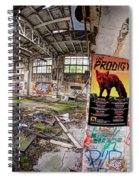 The Prodigy In Berlin Spiral Notebook