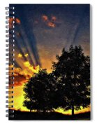 The Promise Impasto Paint Spiral Notebook
