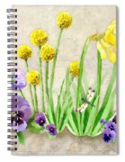 The Promise Of Spring - Dragonfly Spiral Notebook