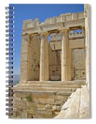 The Propylaia In Athens          The Propylaia - Vertical                                    Spiral Notebook