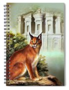 The Protector Of The City Of Petra Spiral Notebook