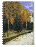 The Public Garden Spiral Notebook