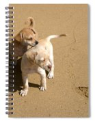 The Puppies Spiral Notebook