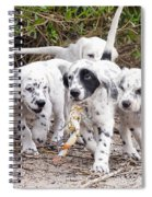 The Puppy's Prize Spiral Notebook
