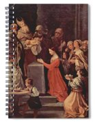 The Purification Of The Virgin 1640 Spiral Notebook
