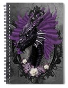The Purple Dragon Spiral Notebook