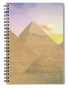 The Pyramids Of Giza 2 Spiral Notebook