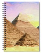 The Pyramids Of Giza Spiral Notebook