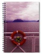 The Queen Of Coquitlan Spiral Notebook