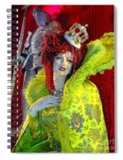 The Queen Of Fashion Spiral Notebook