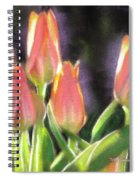 The Queen's Tulips Spiral Notebook
