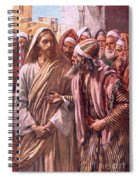 The Question Of The Sadducees Spiral Notebook