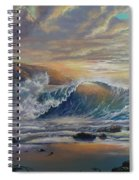 The Radiant Sea Spiral Notebook