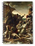 The Raft Of The Medusa Spiral Notebook