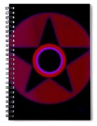 The Rainbow In Reverse Spiral Notebook