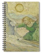 The Raising Of Lazarus After Rembrandt Saint Remy De Provence  May 1890 Vincent Van Gogh 1853  Spiral Notebook
