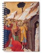 The Raising Of Lazarus Spiral Notebook