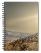 The Range, White Mountains  Spiral Notebook
