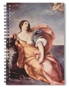 The Rape Of Europa 1639 Spiral Notebook