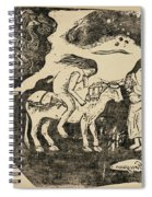 The Rape Of Europa Spiral Notebook