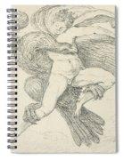 The Rape Of Ganymede Spiral Notebook