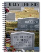 The Real Billy The Kid Spiral Notebook