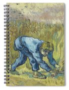 The Reaper After Millet Spiral Notebook