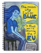 The Reason Why I Am So Blue Spiral Notebook