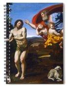The Rebuke Of Adam And Eve Spiral Notebook