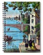 The Reception Of Benjamin Franklin In France Spiral Notebook