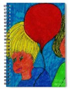 The Red Balloon  Spiral Notebook