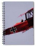 The Red Baron Spiral Notebook