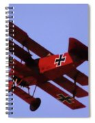 The Red Baron II Spiral Notebook