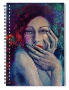 The Red Bird Spiral Notebook