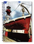 The Red Boat Spiral Notebook