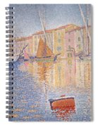 The Red Buoy Spiral Notebook