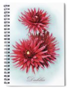 The Red Dahlia Spiral Notebook
