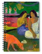 The Red Dog Spiral Notebook