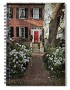 The Red Door - 2 Spiral Notebook